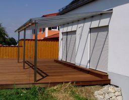 edelstahl terrassen berdachung schwimmbad und saunen. Black Bedroom Furniture Sets. Home Design Ideas